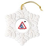 Enthusiasts only Snowflake Ornament
