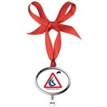 Enthusiasts only Oval Year Ornament