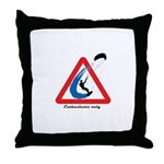 Enthusiasts only Throw Pillow