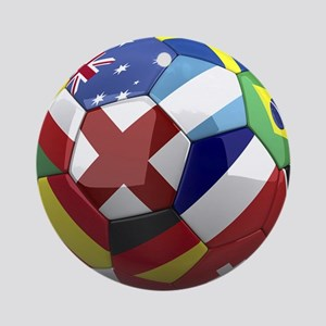 World Cup Fever Ornament (Round)