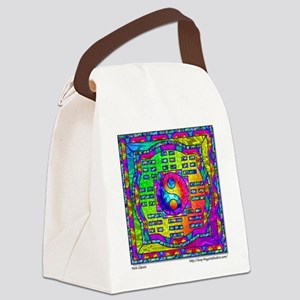 Yin-Yang and I-Ching Canvas Lunch Bag