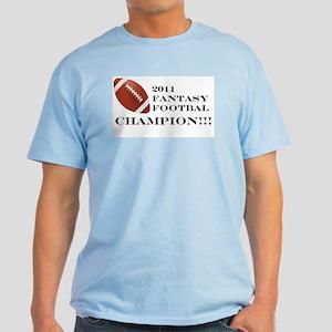 2011 Fantasy Football Champion T-Shirt