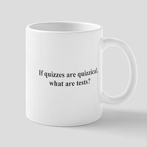 quizzical Mug