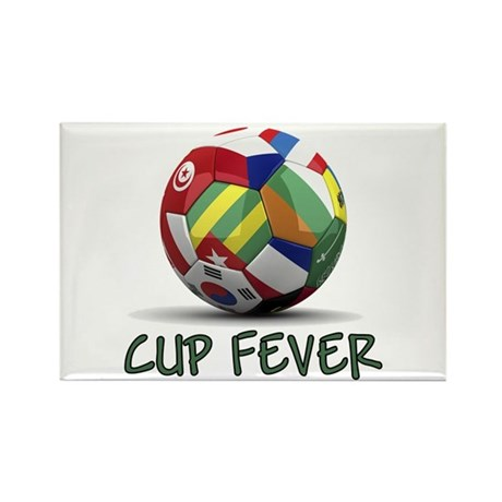 World Cup Fever Rectangle Magnet
