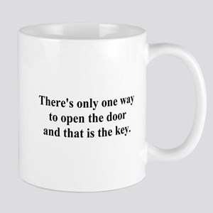 open the door Mug