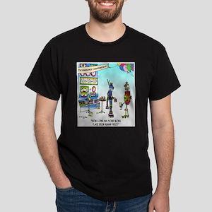 Human Free Work Place Dark T-Shirt