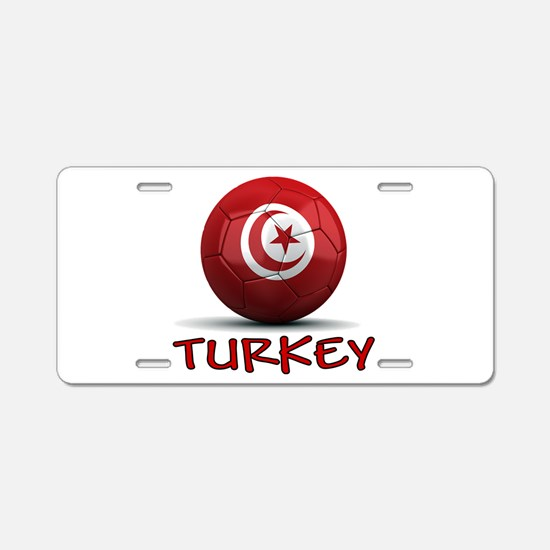 Team Turkey Aluminum License Plate