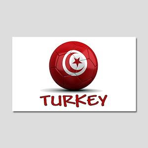 Team Turkey Car Magnet 20 x 12