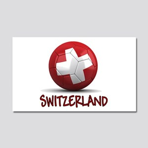 Team Switzerland Car Magnet 20 x 12