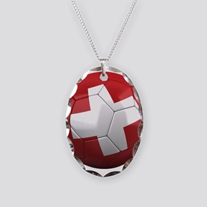 Team Switzerland Necklace Oval Charm