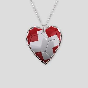 Team Switzerland Necklace Heart Charm