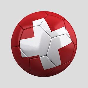 """Team Switzerland 3.5"""" Button"""