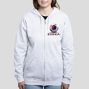 Team South Korea Women's Zip Hoodie