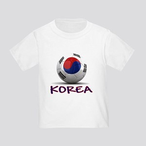 Team South Korea Toddler T-Shirt