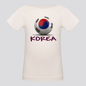 Team South Korea Organic Baby T-Shirt
