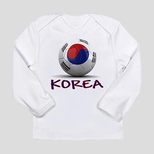 Team South Korea Long Sleeve Infant T-Shirt