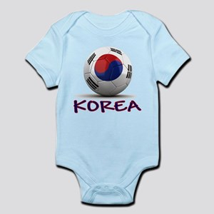 Team South Korea Infant Bodysuit