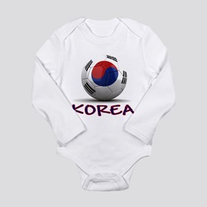 Team South Korea Long Sleeve Infant Bodysuit