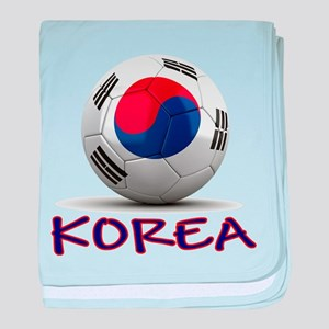 Team South Korea baby blanket