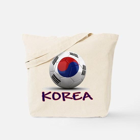 Team South Korea Tote Bag