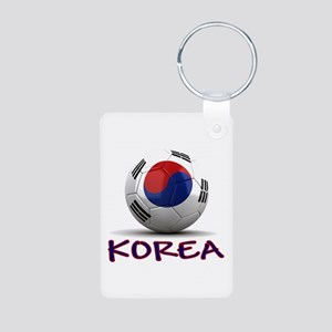 Team South Korea Aluminum Photo Keychain
