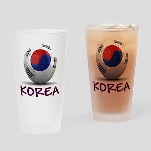 Team South Korea Drinking Glass