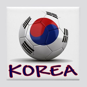 Team South Korea Tile Coaster