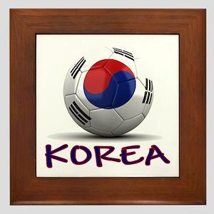 Team South Korea Framed Tile