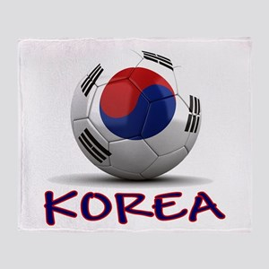 Team South Korea Throw Blanket