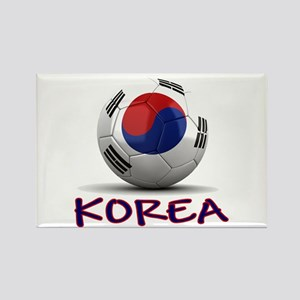 Team South Korea Rectangle Magnet