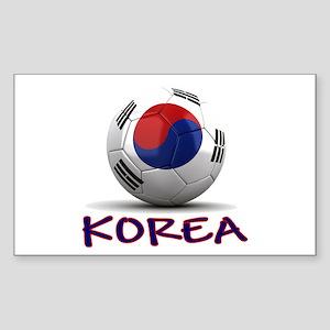 Team South Korea Sticker (Rectangle)