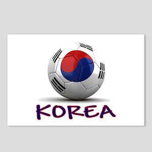 Team South Korea Postcards (Package of 8)