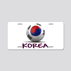 Team South Korea Aluminum License Plate