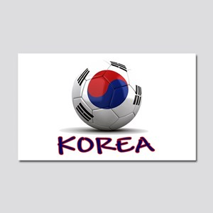 Team South Korea Car Magnet 20 x 12