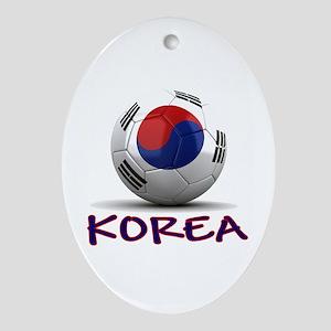 Team South Korea Ornament (Oval)