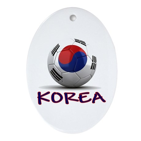Team South Korea Ornament (Oval)