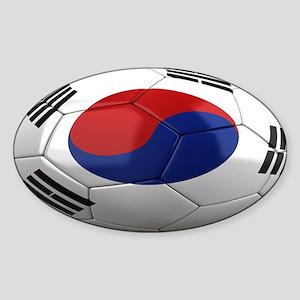 Team South Korea Sticker (Oval)