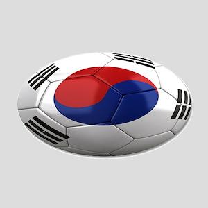 Team South Korea 22x14 Oval Wall Peel