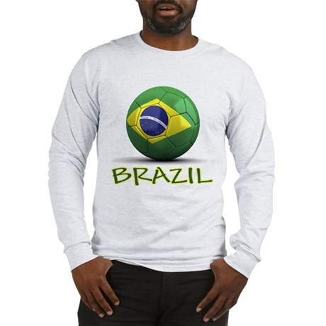 Team Brazil Long Sleeve T-Shirt