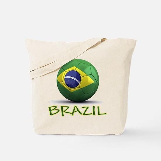 Team Brazil Tote Bag