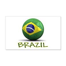 Team Brazil 22x14 Wall Peel