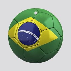 Team Brazil Ornament (Round)