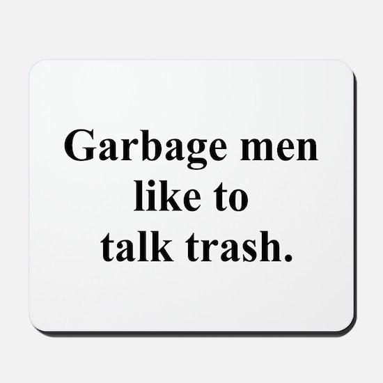 trash talk Mousepad
