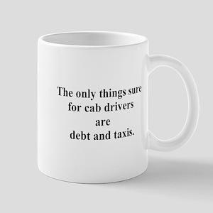 debt and taxis Mug