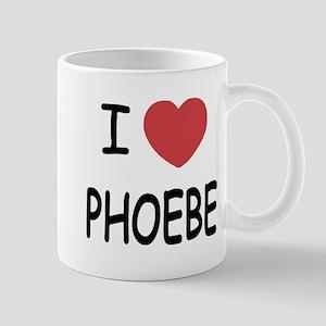 I heart phoebe Mug