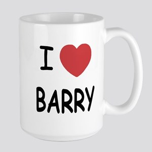 I heart barry Large Mug