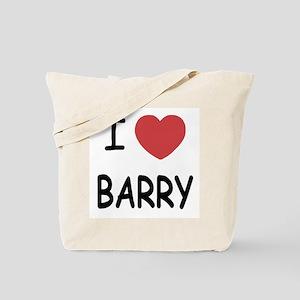 I heart barry Tote Bag