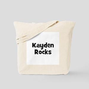 Kayden Rocks Tote Bag