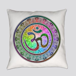 OM-mandala Everyday Pillow