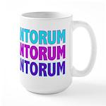 Rick Santorum Purple & Teal Large Mug